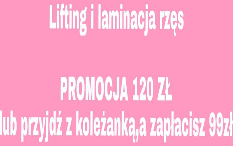 Lifting i laminacja rzęs 1
